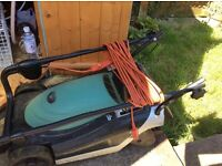 Electric lawn mower for sale. Good condition and in good working order. Buyer collects. £30