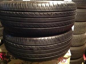 2 pneus d'été 225/60 r16 goodride.  80$