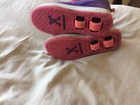 Wheeled shoes size Uk1
