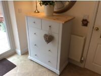 Stunning Solid Pine Five Drawer Chest