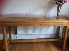 "Large pine butchers table 36""x72""x24"""