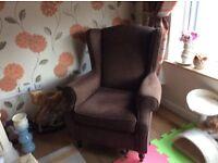 Next Sherlock wing back chair