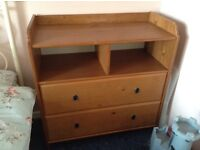 Changing table / chest of drawers
