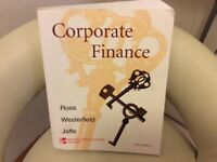 Corporate Finance Management college text book