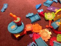 Huge bundle of Toot Toot cars, track buildings, 14 vehicles, plse see all pictures