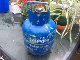 Calor gas bottle blue butane gas 4.5kg