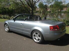 Audi A4 Cabriolet 3.0 TDI Sport Cabriolet Quattro 2dr V6 Turbo