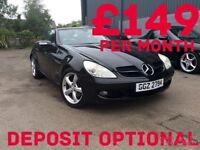 2006 Mercedes-Benz SLK 1.8 Auto Convertible One Owner Only 38k FINANCE!