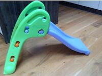 Smoby Purple & Green Kids/Toddler Plastic Slide