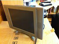 15 inch silver tv