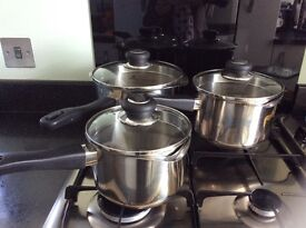 Judge Stainless Steel Pans