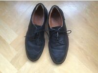 COFRA black lace-up steel-toe-capped safety shoes. Barely worn. Size 9 / 42