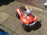 Battery operated quad bike for age 2+