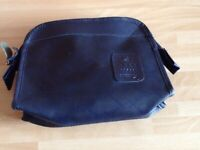An Early 1980's British Airways First Class Blue Amenities Bag - Empty