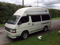 Toyota Hiace coachbuilt campervan