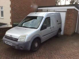 Transit Connect with 1 Years Full Mot and Part S/H. Dead locks and Slam locks with side door.