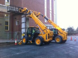 JCB Loadall 535 10 m reach 2002 model recent test 70% tyres any trial