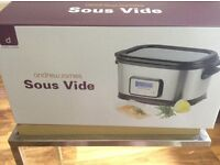 BRAND NEW ANDREW JAMES SOUS VIDE (water bath)