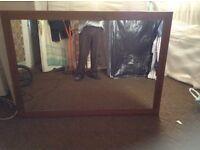 Mirror purchased from Linda reid few years back,£70.00