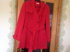 3/4 Ladies Red Coat
