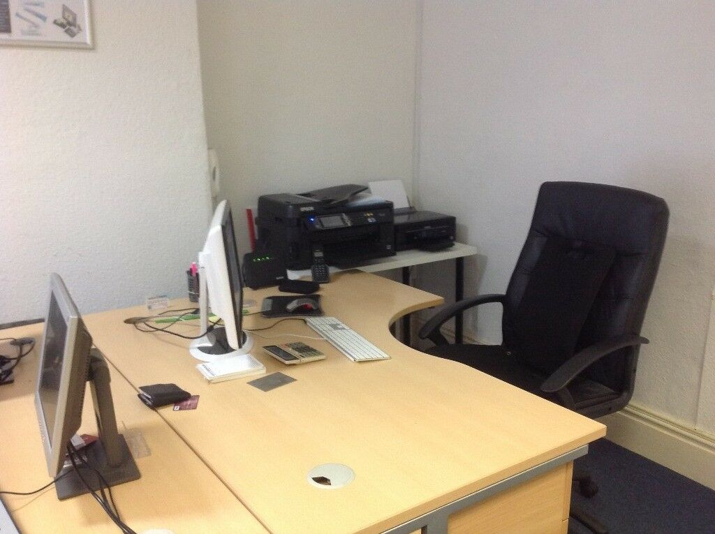 2 Good sized Office Desks - Free