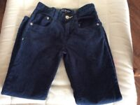 Mini Boden blue cords size 7 years
