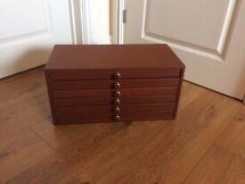 Vintage 6 Drawer storage cabinet