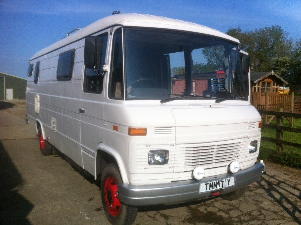 Mercedes motorhome campervan glamping camper 508d 408d for Mercedes benz camper for sale