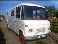 mercedes motorhome campervan glamping 508d 408d 407d 608d 609d xlwb FULL MOT