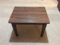 Brown Side Table - 54 x 40cm