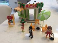 Playmobil harbour cafe set