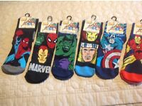 Men's Marvel Comic socks