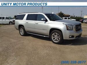 2015 GMC Yukon XL SLT- Heated and cooled front seats! Heated ste