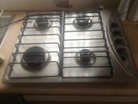 Baumatic four burner stainless Gas Hob
