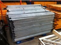 Industrial Warehouse galvanised steel pallet racking decking board panel