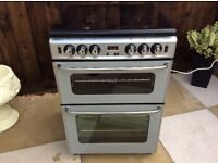 Cannon Silver All Gas Cooker With Seperate Oven/Grill In Excellent Clean Condition Can Deliver
