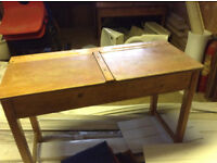 Vintage School Desks