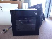 New World built in gas oven cooker