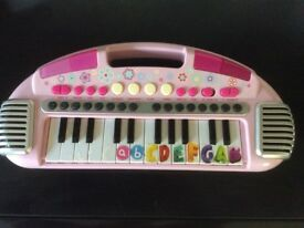 ELC Early Learning Centre Carry Along Keyboard Organ Light Up Toy