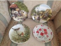 Ornamental plates all in excellent condition, £10 each