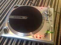 Numark tt1650 DJ turntable ,Direct Drive System,in good condition,stanton cartridge,see ad/pics