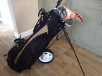 Full set of LADIES GOLF CLUBS bag and trolly (falcon fireblade )