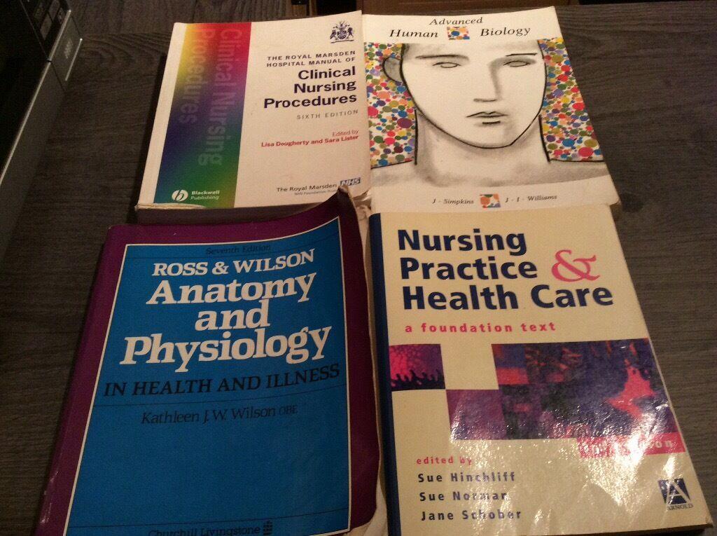 2nd hand nursing books