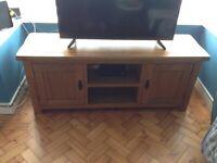 TV unit (oak, large)