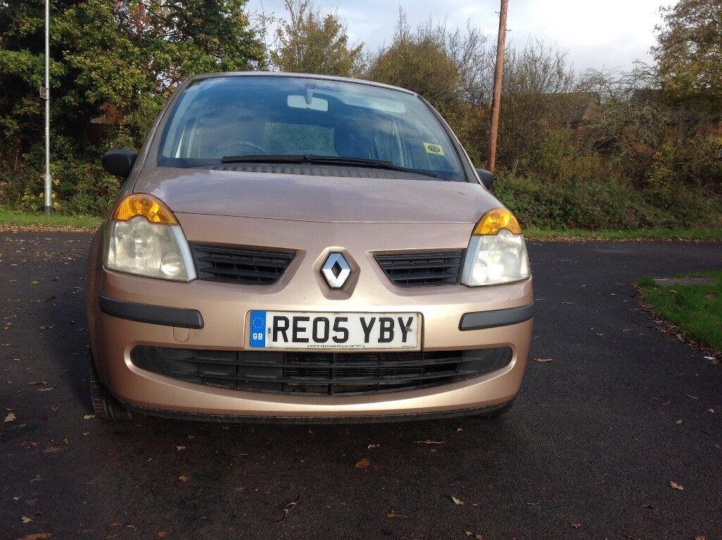Renault modus dynamic 1.4 petrol 5 door full service history mot April 18