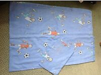 Childs single bed duvet and pillowcase
