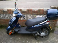 Piaggio Fly 50cc 4T four stroke moped - offers welcome!