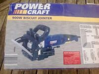 Powercraft 900 w Biscuit Jointer as new