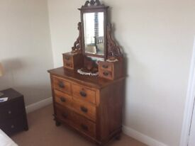 VINTAGE DRESSING TABLE -Solid timber