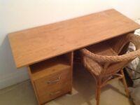 Desk / Dressing Table - Oak effect